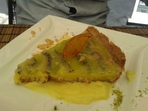 Tarte kiwi et crème pâtissière au citron